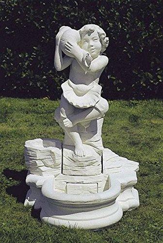 Brunnen Gartenbrunnen Zierbrunnen fountain H 98 Farbe sandstein
