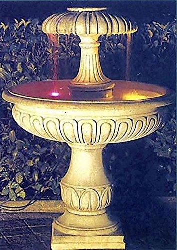 Brunnen Gartenbrunnen Zierbrunnen fountain Se Farbe sandstein