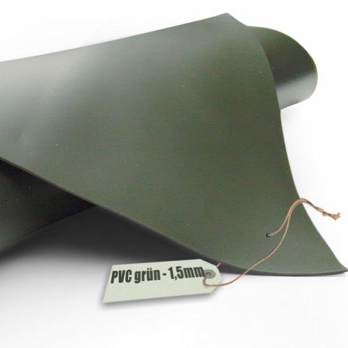 Teichfolie PVC 15mm oliv grün in 7m x 6m