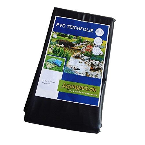 Teichfolie PVC 4m x 2m 05mm schwarz Folie für den Gartenteich