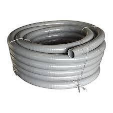 well2wellness PVC Flexschlauch 40mm  PVC Klebeschlauch 40mm für Pool  Teich 10m Rolle
