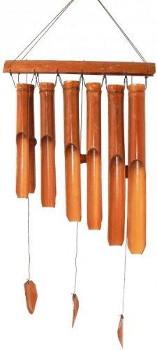 Bambus-Windspiel Feng-Shui 40 cm Klangröhren