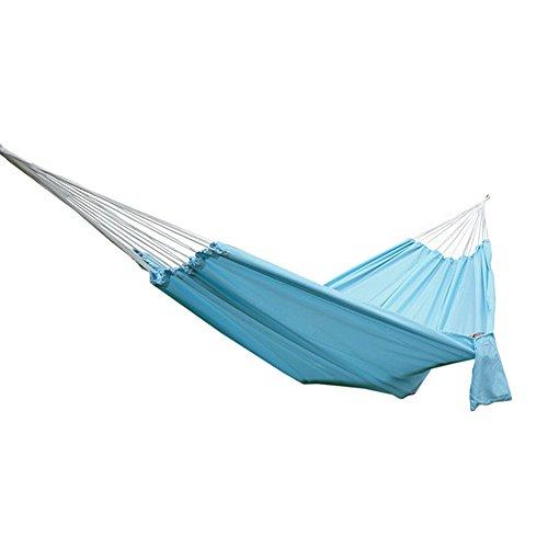 Etbotu Tragbare Fallschirm Tuch Hängematte Hängen Bett für Reise Camping Rose