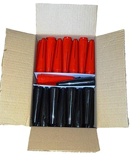 Solar-Tropfer Box von 110 mit 55 SD scharz und 55 XL Rot