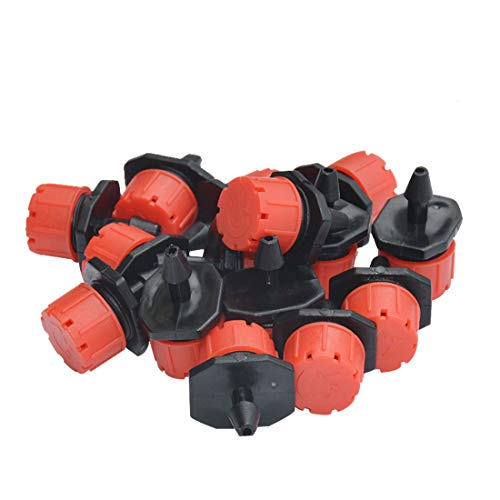 iSuperb Bewaesserung Micro-Drip Tropfer Regulierbar Endtropfer Wasserspender B