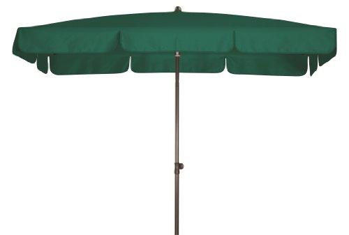 Absolut wasserdichter Gartenschirm Waterproof 185x120 von Doppler mit UV-Schutz 80 Farbe dunkelgrün