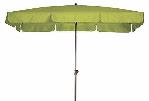 Doppler Absolut wasserdichter Gartenschirm Waterproof 260x150 Pistazie UV-Schutz 80 Made IN Austria