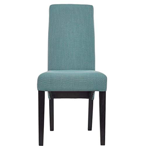 Butlers High Noon Stuhl - gepolstert - bequemer Hochlehner - hoher Sitzkomfort - Bezug Mikrofaser-Cord