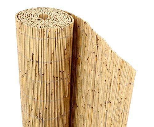 bambus-discountcom Schilfrohrmatte Premium 160 x 300cm Sichtschutzmatte Schilfmatten