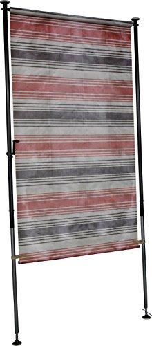 Angerer Balkon Sichtschutz Nr 5100 braun 120 cm breit 23185100 Rot