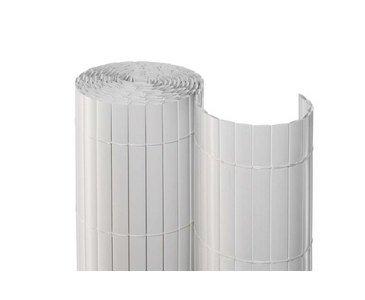 Sichtschutz für Balkon Hamburg PVC eco Ausführung 100 x 300 cm weiss - Balkon Sichtschutzmatten Balkonverkleidungen