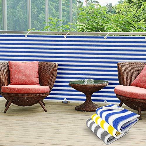 casa pura PVC Sichtschutz Balkon 90 x 500 cm in 3 Farben erhältlich-Abdeckung Displayschutzfolie mehrfarbig