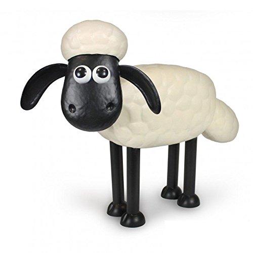 Shaun das Schaf – Dekorative Gartenfigur aus Metall