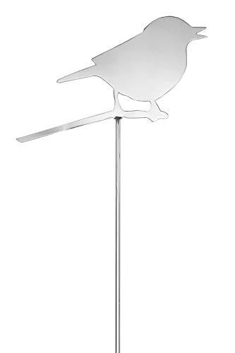 FINK AVIOGartenstecker Vogel EdelstahlH106cmL25cm