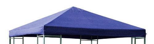 DEGAMO Ersatzdach für Pavillon 3x3 Meter blau wasserdicht