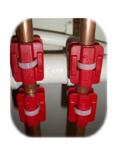 Magnet-Wasseraufbereiter zum Entfernen von Kalkablagerungen 4 Stück