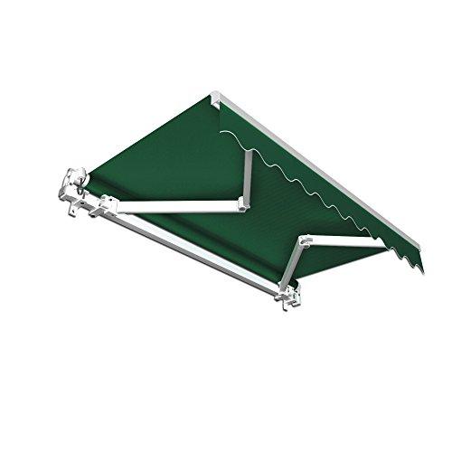 JAROLIFT Gelenkarmmarkise Basic 295 x 250cm Stoff grün Uni