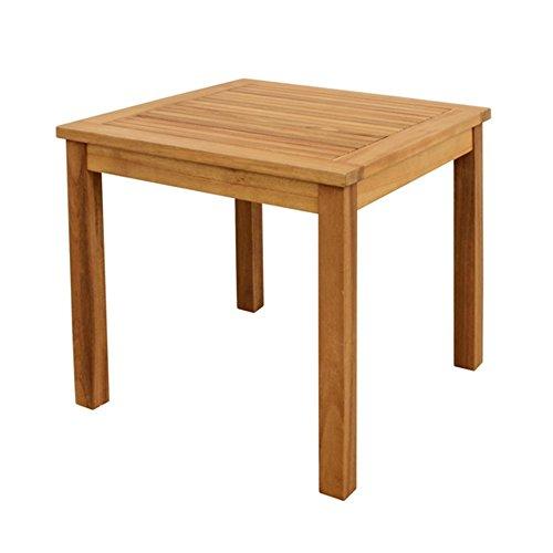 Benelando Quadratischer Beistelltisch aus Akazienholz