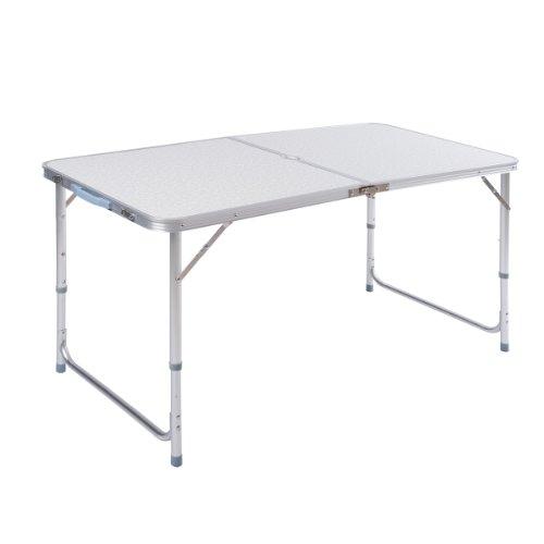 ZNL Aluminium Klapptisch Campingtisch Koffertisch Falttisch Gartentisch Esstisch klappbar höhenverstellbar AFT-02