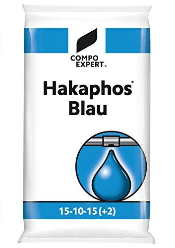 HAKAPHOS Nährsalz Grün Blau Rot 500-g 1-kg 5-Kg 25Kg Wuchs-dünger Blüte-dünger Universal-dünger Zimmerpflanzen-dünger Garten-Dünger 25-Kg Blau