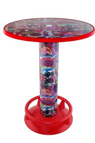 Severin Stehtisch Quick Table Design London 60s Stehbiertisch Bistrotisch