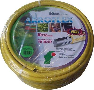 ARROFLEX-Wasserschlauch 25 m 1 gelb