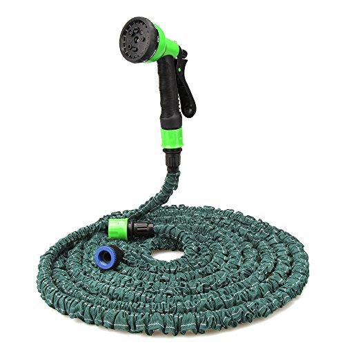 KOYOSO Flexibler Gartenschlauch 15m flexiSchlauch Wasserschlauch flexibel Gartenteichschlauch Bewässungsschlauch dehnbar