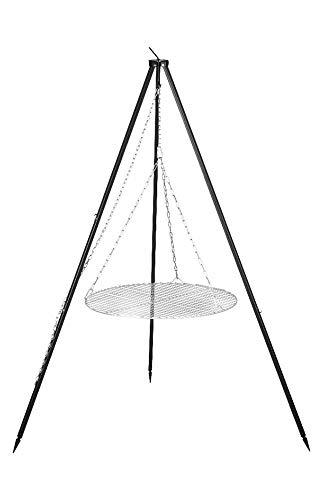 FARMCOOK Schwenkgrill NOBEL Dreibein mit Grillrost aus Edelstahl in 4 Größen Ø 70 cm
