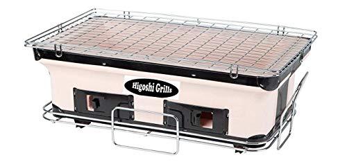 Ians Emporium Hogoshi Japanischer Hyo Tragbarer Koch Ton Ofen Tischplatte Mini BBQ Holzkohlegrills – HIGOSHI Grills