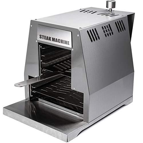 ACTIVA Grill Steak Machine Gasgrill Steak-Grill 800 Grad Oberhitze-Gasgrill BBQ