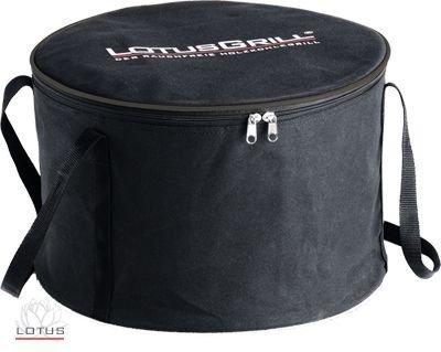 LotusGrill XL Tragetasche Speziell entwickelt für den raucharmen HolzkohlegrillTischgrill Transporttragetasche in Farbe Schwarz