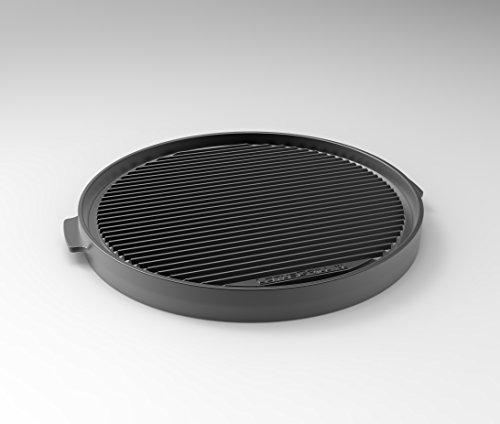 LotusGrill Grill-Teppanyakiplatte XL - Speziell entwickelt für den raucharmen HolzkohlegrillTischgrill XL