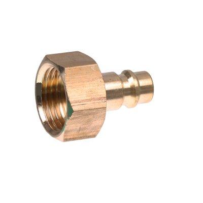 Druckluft Stecker Einstecknippel 12 IG Innengewinde Stecknippel Schnellkupplung Adapter