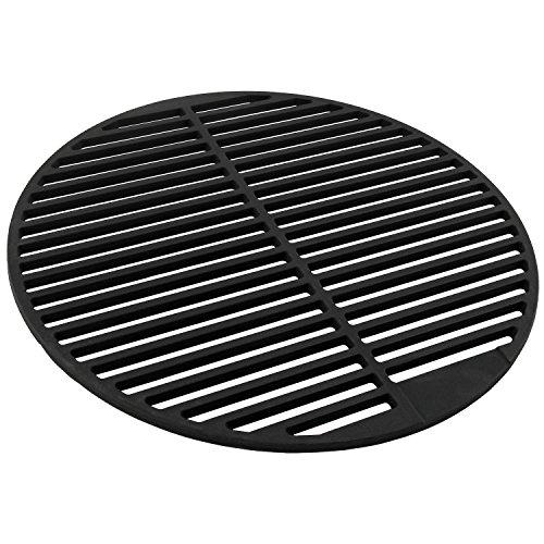 BBQ-TORO Gusseisen Grillrost massiv und emailliert rund verschiedene Größen zur Auswahl für Holzkohlegrill Gasgrill und mehr Ø 45 cm