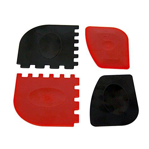 ToCis Big BBQ Reinigungsschaber für Dutch Oven Potjie Pfannen Töpfe  Gusseisen Reiniger aus Kunststoff  Camping Grill Küchen Zubehör