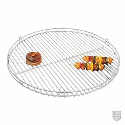 Schneider Grillrost aus Edelstahl mit Reling und Aufhängeösen Ø 80 cm