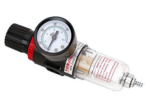 14 Druckluft Wasserabscheider Druckminderer für Kompressor druckregler Pneumatische Komponenten Regulator Filter Gas-Prozessor
