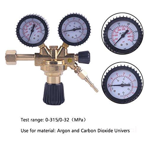 Druckminderer Druckregler für ArgonCO2 Schutzgas zu MIGMAGWIGTIG Schweißgerät