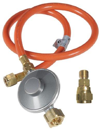 Outdoorchef 1821181 Gasschlauch und Druckregler Set ab Modelljahr 2011 14 Zoll
