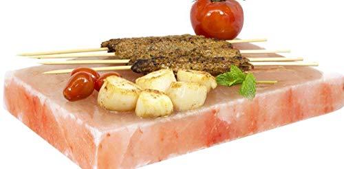 2x Gourmet Salz Grill Steine20x10x25 Original Himalaya Salz Süd Punjab Pakistan-Direkt Anbieter