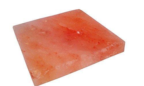 Swimmingpool Wellness Gourmet Salzstein 20 x 20 x 25 cm für Grill und Ofen - Grillsalzstein - BBQ - Salzplatte