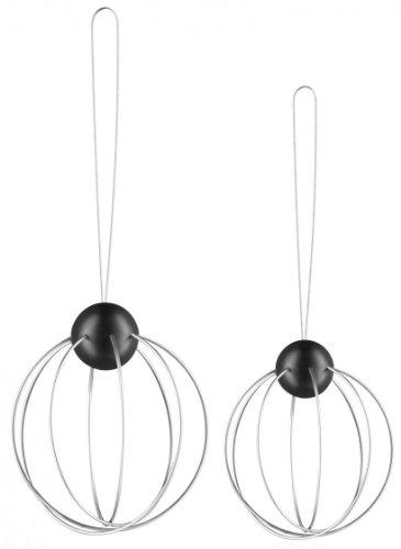 Eva Solo EV571033 Meisenknödelhalter 2er Set Mit Aufhänger Durchmesser 8 cm edelstahlschwarz