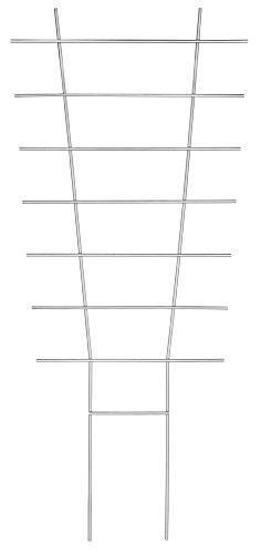 Connex Blumenstütze Metall 34 x 77 cm  Rankhilfe  Gitterspalier  Kletterhilfe für Pflanzen  FLOR78311