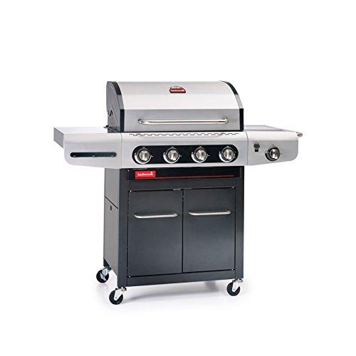 Barbecook Gasgrill Siesta 412 ohne Plancha grau 142 x 556 x 118 cm 2239241202