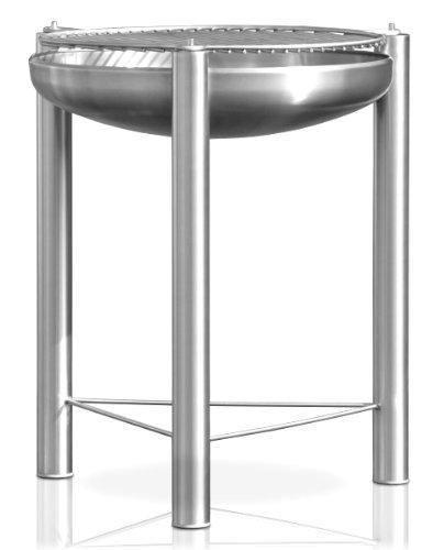Edelstahl Grill Ø 90 cm RICON deutsche Herstellung