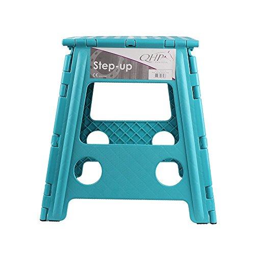 netproshop Klapphocker Step-up faltbarer Hocker für Stall Haus Camping versch Farben Farbetuerkis