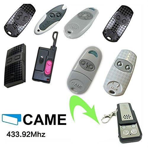 CAME Universal Garagentor Fernbedienung Kompatibel Sender Geeignet für TOP432EV  TOP434EV  TOP432SA  TOP432S  TOP432M  TOP434M  TAM432SA TWIN2  TWIN4  T432 ersatz klone