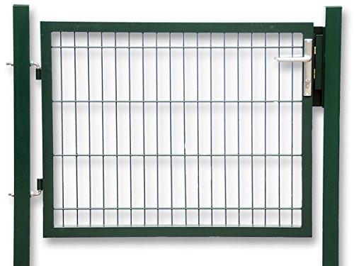 Gartentür zum Doppelstabmattenzaun grün - Höhe 100 cmBreite 100 cm Pforte Tor Zaun-Tür eingangs-Tür