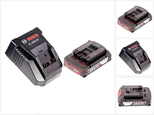 Bosch Akku Set mit 1 x GBA 2 Ah Akku und Ladegerät AL 1820 CV für 144 V - 18 V Li-Ion