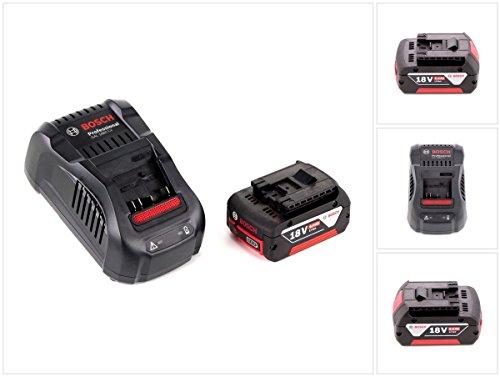 Bosch Basis Set 18 V mit 1 x GBA 6000 mAh  6 Ah Akku und Ladegerät GAL 1880 CV für 144 V - 18 V Li-Ion